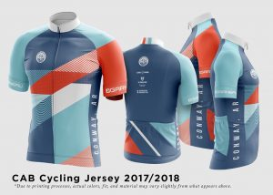 Conway Advocates for Bicycling 2018 Jersey