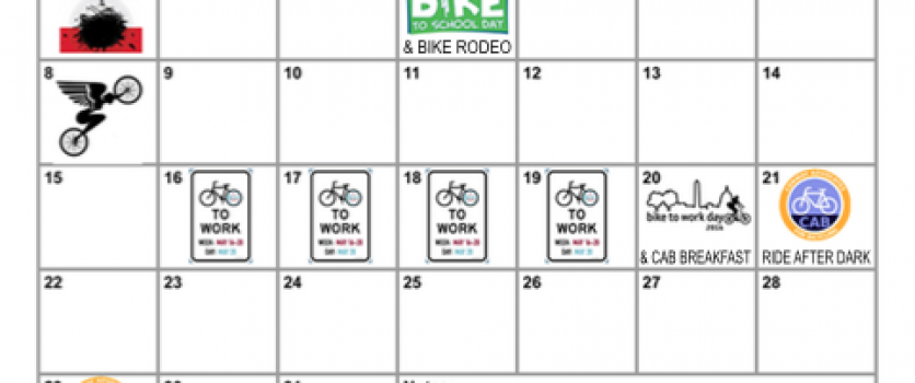 May Bike Month Events in Conway